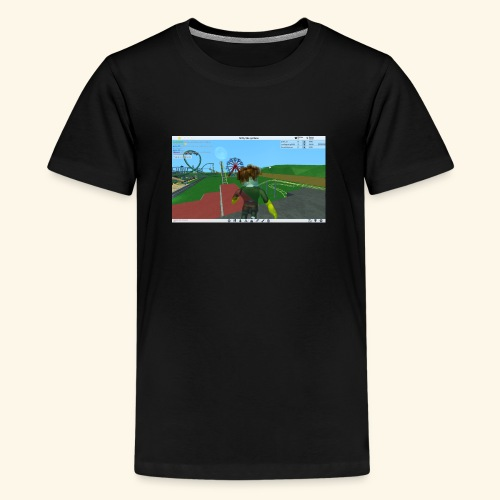 randie gaming t shrit - Teenager Premium T-shirt