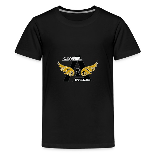 ANGEL INSIDE2-01 - Maglietta Premium per ragazzi