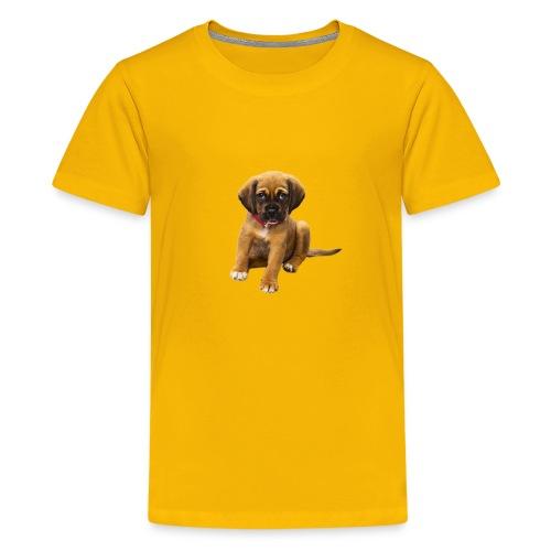 Süsses Haustier Welpe - Teenager Premium T-Shirt