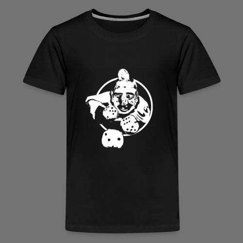 Professional Gambler (1c valkoinen) - Teinien premium t-paita