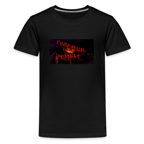 Parkour people spooky clothing - Teenage Premium T-Shirt