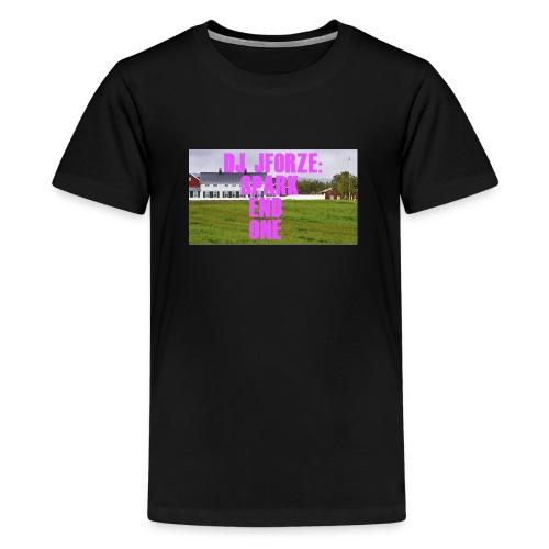 SPARK END ONE MODELL - Premium T-skjorte for tenåringer