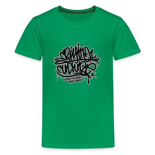 Criminal Culture - Teenager Premium T-Shirt