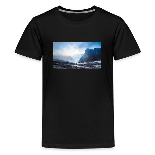 TRAVEL THE WORLD - Teenage Premium T-Shirt