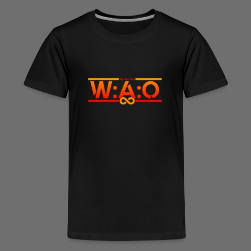 W:A:O We Are One - Teenager Premium T-Shirt