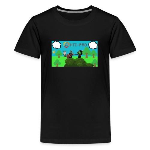 Maglietta Immagine Mario Anti-Pro - Maglietta Premium per ragazzi