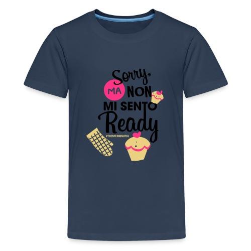 Non mi sento pronto - 30enninutili - Maglietta Premium per ragazzi