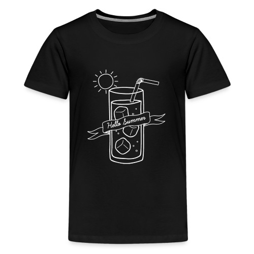 Hello Summer_White - T-shirt Premium Ado