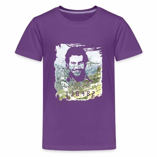 Pablo Escobar distressed - Teenager Premium T-Shirt