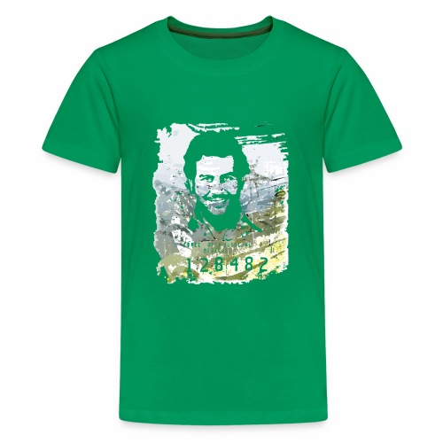 Pablo Escobar distressed - Teenager Premium T-Shirt