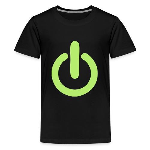 beheerd uitknop - Teenager Premium T-shirt