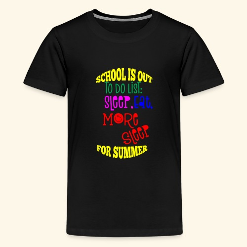 Last day of school - Teenage Premium T-Shirt