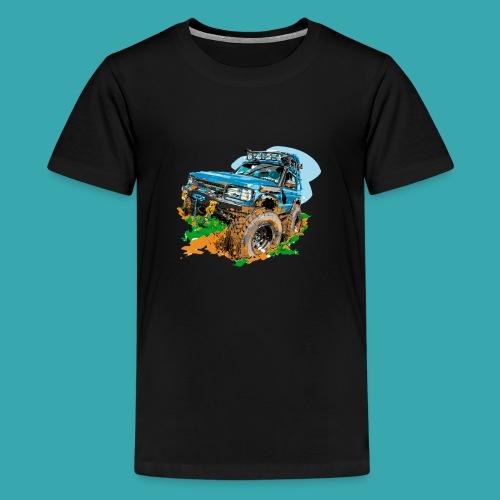 Big Blue - Teenage Premium T-Shirt