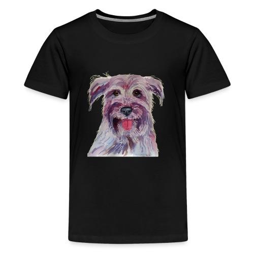 pyrenean shepherd - Teenager premium T-shirt
