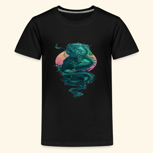 Chinese Dragon Tattoo T-Shirt for Dragon Lover - T-shirt Premium Ado