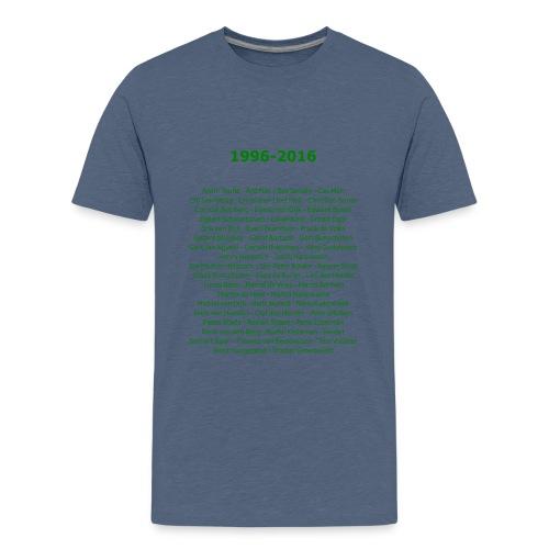 tekening4 - Teenager Premium T-shirt