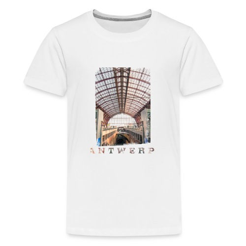 ANTWERP CENTRAL STATION - Teenager Premium T-shirt
