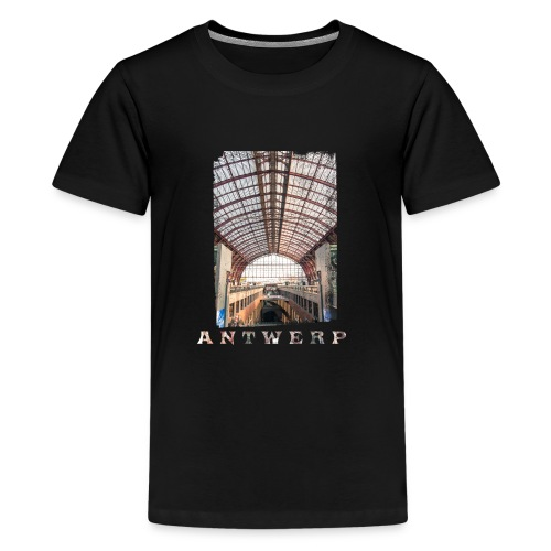 ANTWERP CENTRAL STATION - Teenager Premium T-shirt