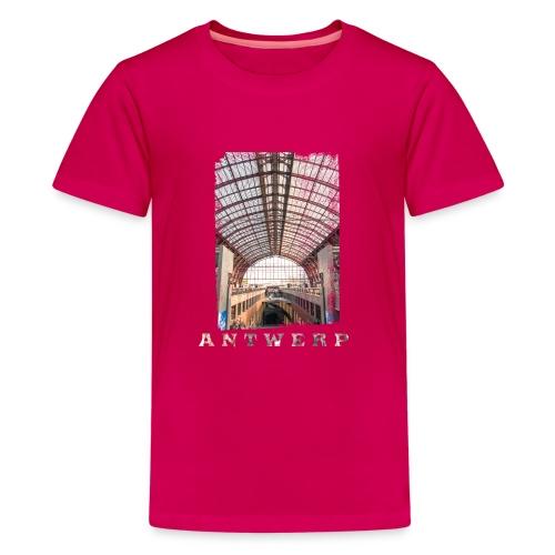 Antwerpen | Centraal Station - Teenager Premium T-shirt