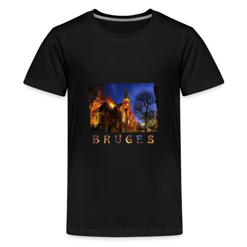 Bruges | By Night - Teenager Premium T-shirt