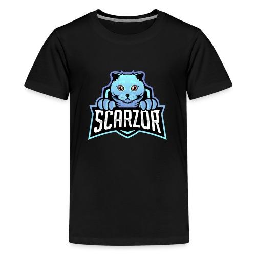 Scarzor Merchandise - Teenager Premium T-shirt