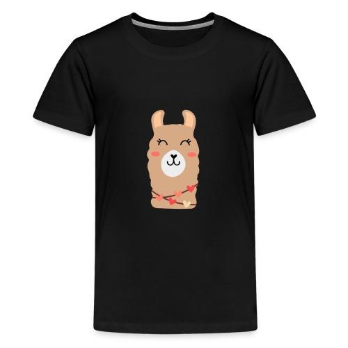 Kochana llama lama alpaka - Koszulka młodzieżowa Premium