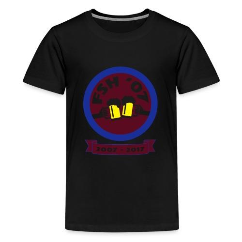 FSH RUND ny - Premium-T-shirt tonåring