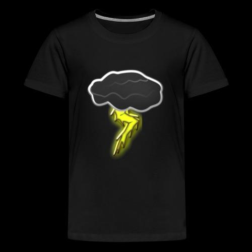 Blitzschlag - Teenager Premium T-Shirt