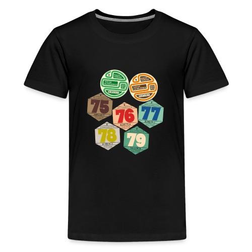 Vignettes automobiles années 70 - T-shirt Premium Ado