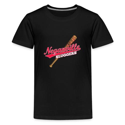 Neganville Sluggers - Teenage Premium T-Shirt
