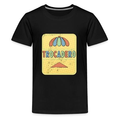 The king of golden soda - Premium-T-shirt tonåring