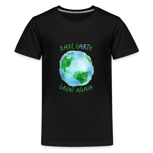 EARTH - Camiseta premium adolescente