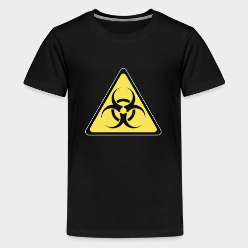 SEÑAL BIOHAZARD - Camiseta premium adolescente
