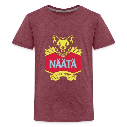Näätä - Teinien premium t-paita
