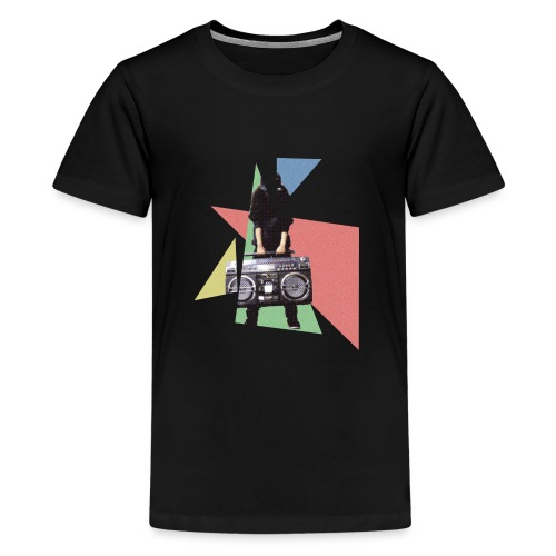 StereoGirl concept2 2 png - Teenager Premium T-shirt