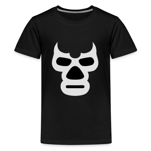 Wrestling_Maske_Daemon - Teenager Premium T-Shirt