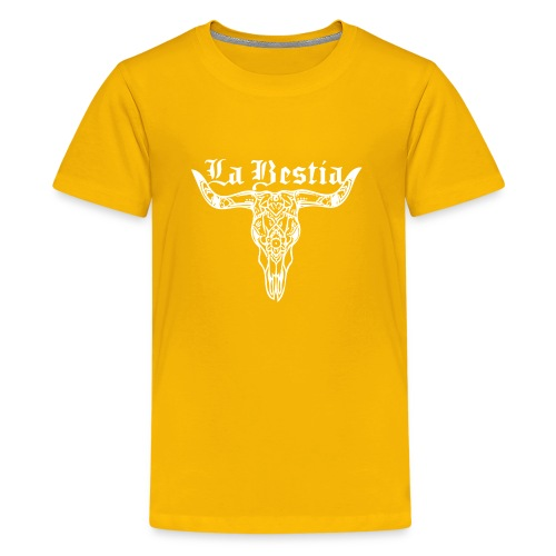 LaBestiaWhite png - Teenager Premium T-shirt