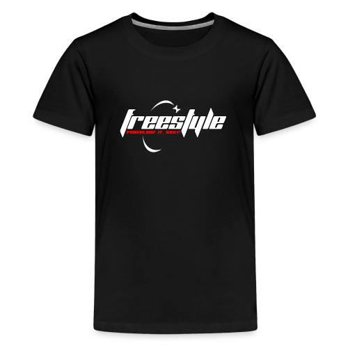 Freestyle - Powerlooping, baby! - Teenage Premium T-Shirt
