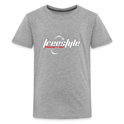 Freestyle - Powerlooping, baby! - Teenage Premium T-Shirt