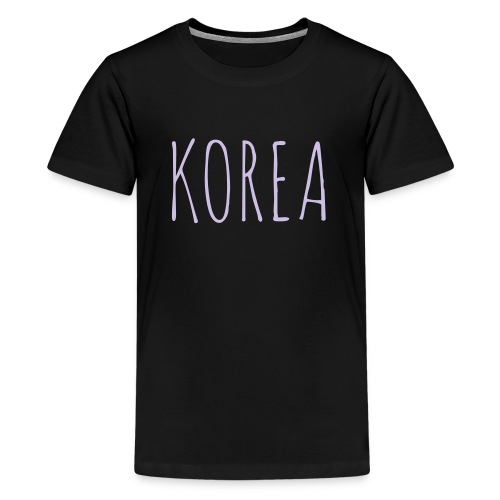 Korea - Limited Edition - Teenage Premium T-Shirt