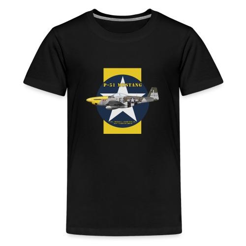 P-51 shirt design - T-shirt Premium Ado