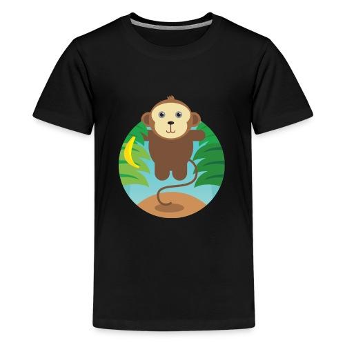 Banana Monkey - Teenager Premium T-Shirt