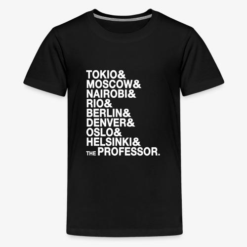 Casa di Carta - Donna Canottiera - Maglietta Premium per ragazzi