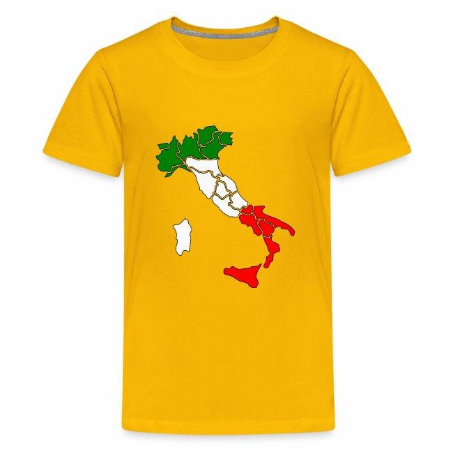 Karte von Italien
