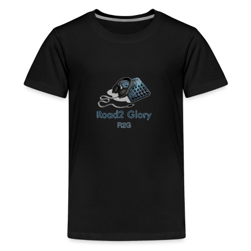 Road2 Glory Logo - Teenage Premium T-Shirt