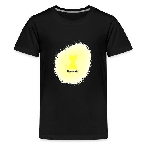 Sand cat - Teenage Premium T-Shirt