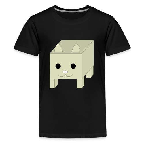box cat - Teenager Premium T-shirt