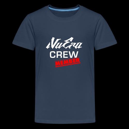 NuEra Crew Logo 2018 - Teenager Premium T-Shirt