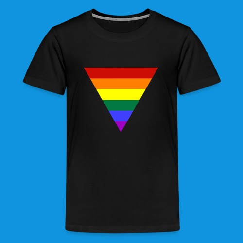 Pride Triangle pocket tank - Teenage Premium T-Shirt