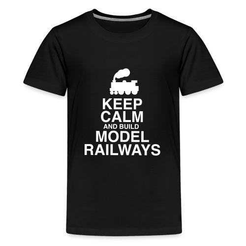 KEEP CALM - Teenage Premium T-Shirt